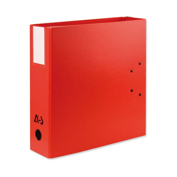 Arianex Double Lever Arch File – Red