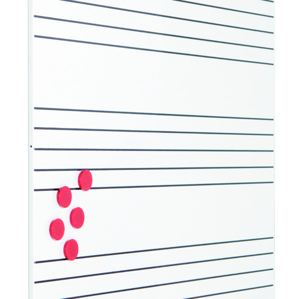 Rocada SkinWhiteboard Music 75x115cm